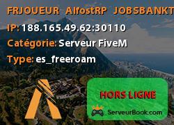 [FR-JOUEUR]   AlfostRP   JOBS/BANK/TEL/DROGUES..  - AlfostRP.fr