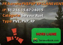 [FR] Auroria PVE-PVP XP-CLAN-EVENT