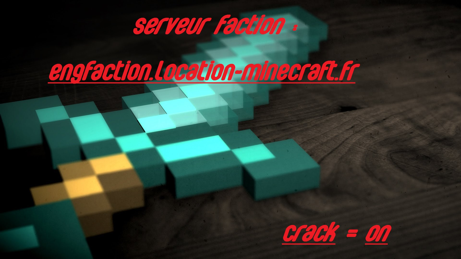 Serveur Minecraft ENGfaction