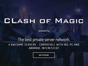 Serveur Clash Of Magic
