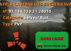 [FR]LA CAVERNE DES SUCRERIES|VANILLA|WIPE 02/11|ADMIN PRESENT