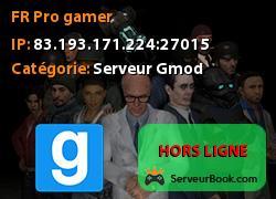 [FR] Pro gamer