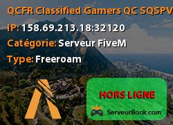 [QC/FR] ️Classified Gamers QC /SQ/SPVM Ambulance Cellphone Drogues Essence Discord 150+ Vehicules,ATM Evenements Strict RP
