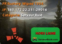 [FR] Rustory - Wiped 13/04