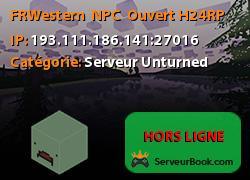 [FR]Western | NPC | Ouvert H24[RP]