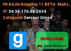 [FR] AlLife Roleplay #1/1 BETA | MaX's PlaY | SeriousRP