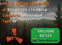 [FR] FYU SWTOR : Jedi vs Sith