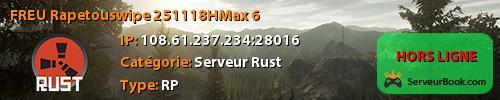 [FR][EU] Rapetous-wipe- 25.11.18H-Max 6