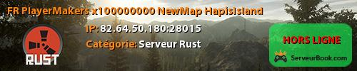[FR] PlayerMakers x100000000 NewMap: HapisIsland