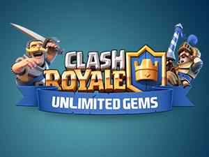 Clash Royale Gems illimité