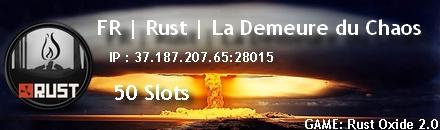FR | Rust | La Demeure du Chaos